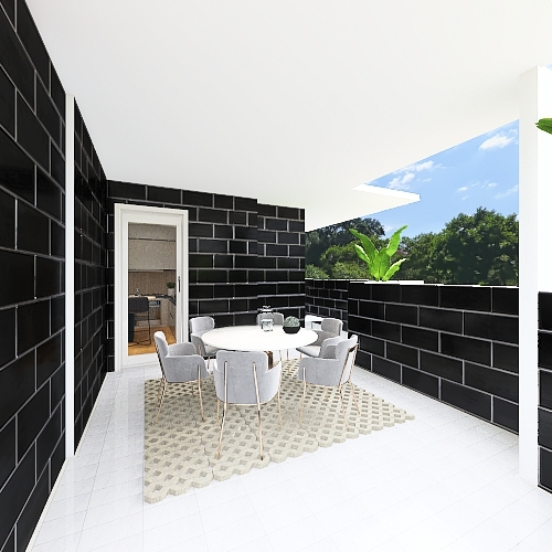 trilocale bovisio masciago Interior Design Render