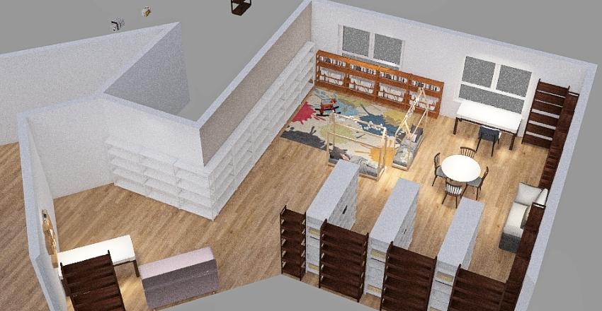 מעלה לבונה נוער ראשון Interior Design Render