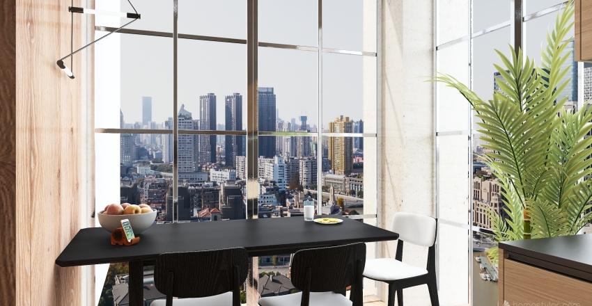 WoodCity Interior Design Render