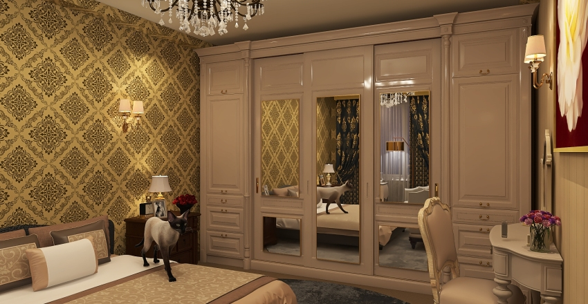 Classic (my first design) Interior Design Render