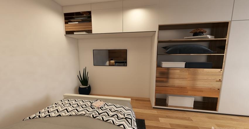 B14 - teplá verze Interior Design Render