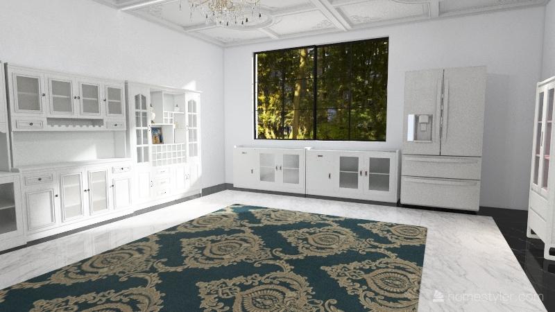 India Waale Interior Design Render