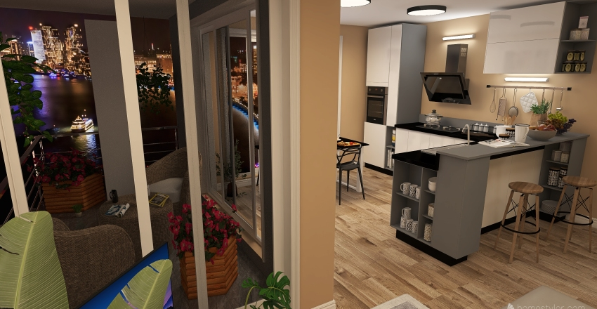 C7    L - Krasice 3 NP Interior Design Render