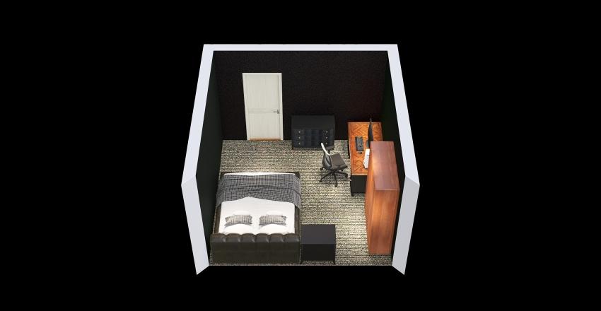 Copy of Bedroom Design Cyrus Interior Design Render