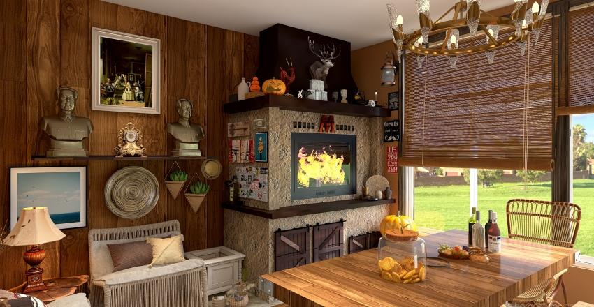 House 2021 Interior Design Render