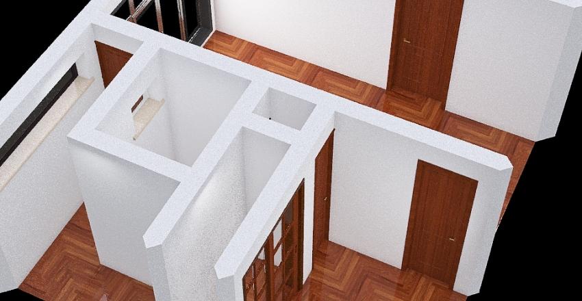 Apartamento para dos Interior Design Render