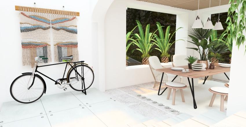 Mountain Condo Interior Design Render