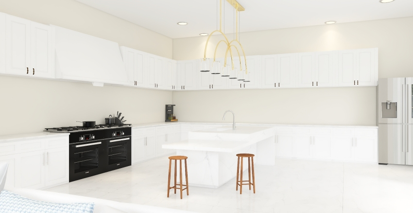 Fit for a queen Interior Design Render