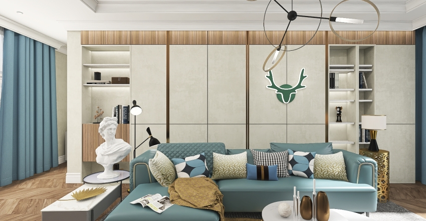 Blumarine Interior Design Render