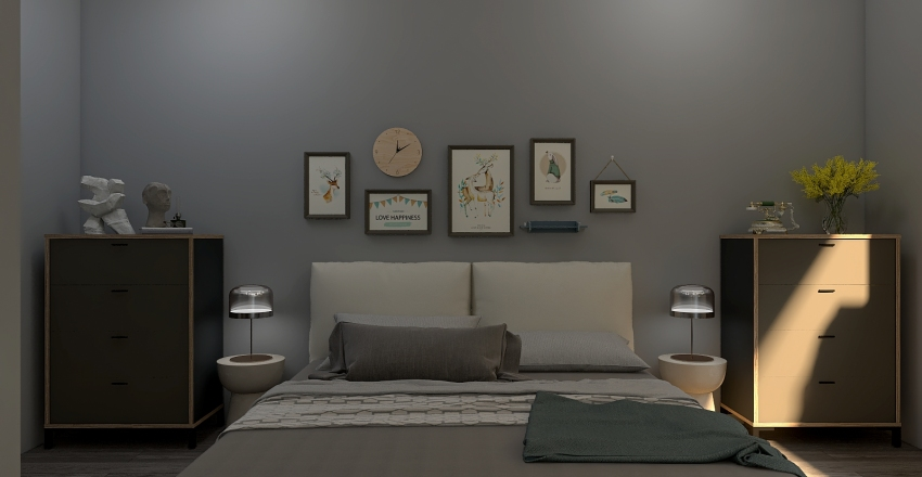 New Zealand Project Interior Design Render