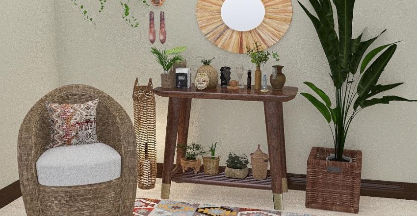 FILIPINO THEMED VIGNETTE (IFUGAO) Interior Design Render