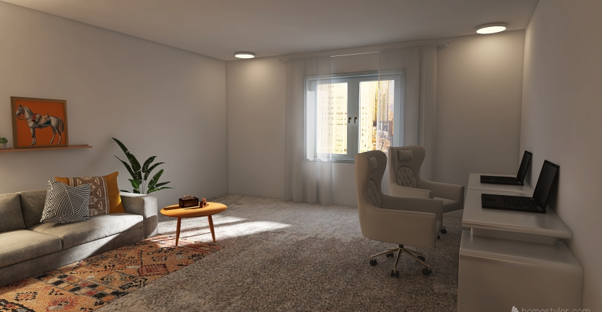 meow Interior Design Render