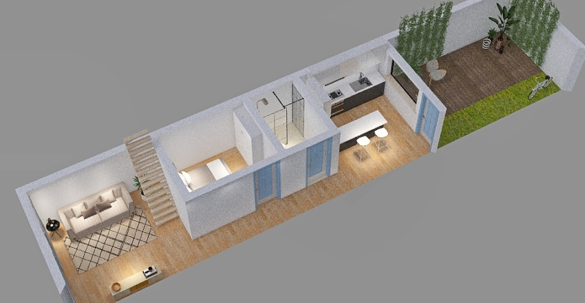 Copy of Copy of Modern Cheerful Palette 2 Interior Design Render