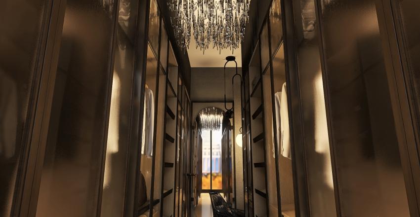 Walk in closet Interior Design Render