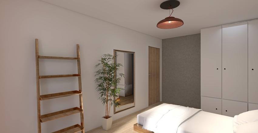 mieszkanie poznan Interior Design Render