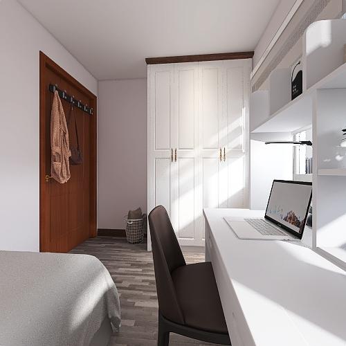 My renovated room Interior Design Render