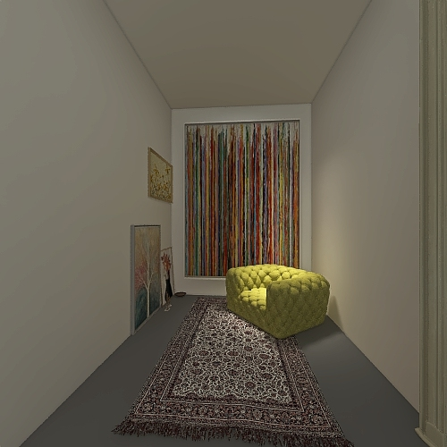 still blooming Interior Design Render