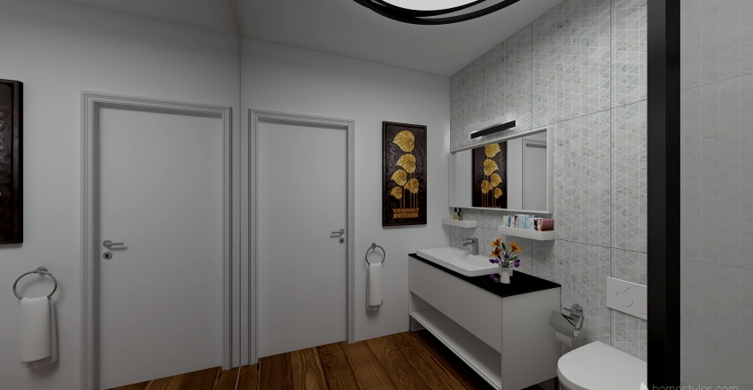 Appartamento Sole Interior Design Render