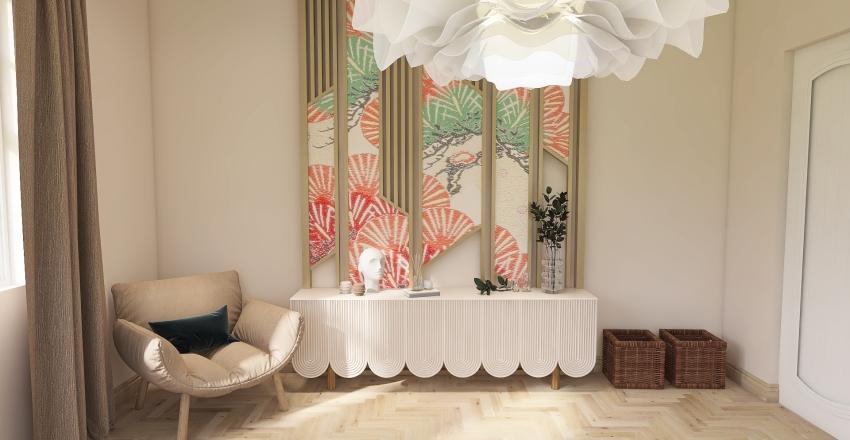 Modern-Blossom Country House Interior Design Render