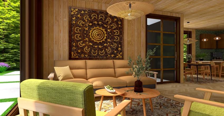 Hidden resort Interior Design Render