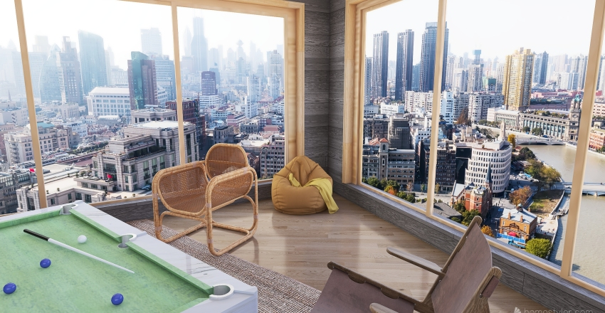treehouse Interior Design Render