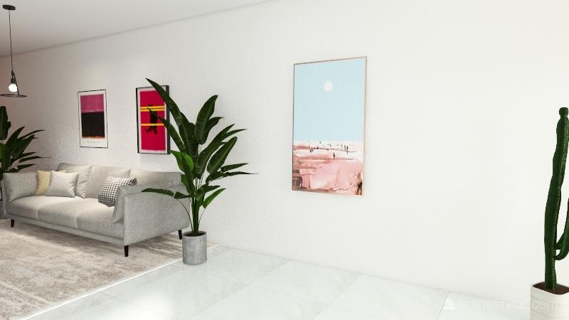 apartamento a Interior Design Render
