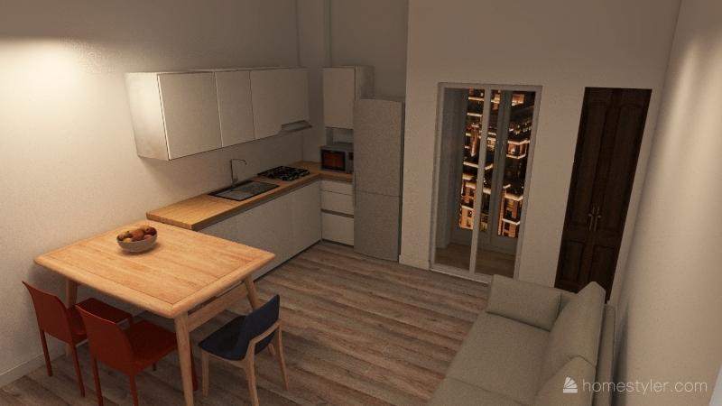Conzato_Via XX SETTEMBRE_V.02 Interior Design Render