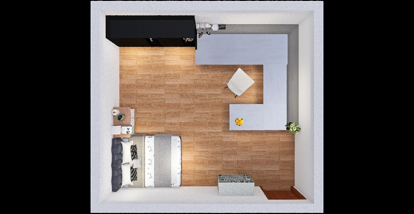 La mia camera Interior Design Render