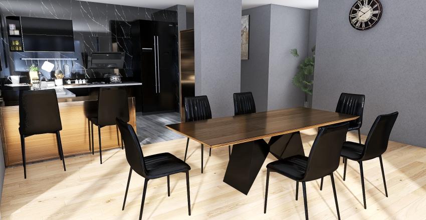 kitchen - edit project demo Interior Design Render