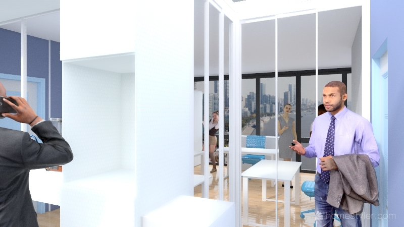 Satınalma Odası 3 Merih H Interior Design Render