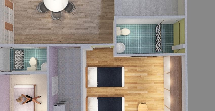 Dragon 2 Ground Floor Interior Design Render