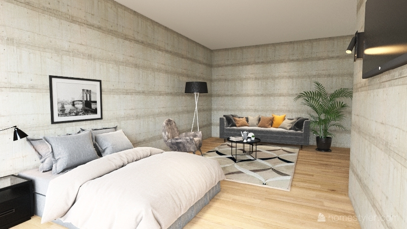 industrial 2 Interior Design Render