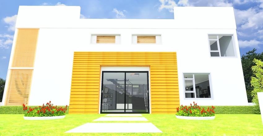 Simple modern Interior Design Render