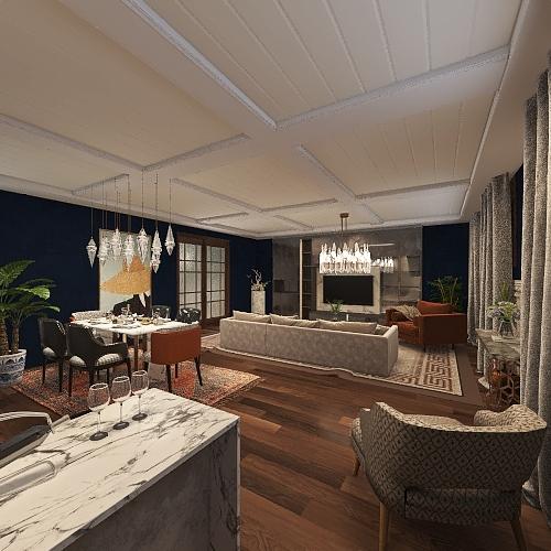 31 living room Interior Design Render