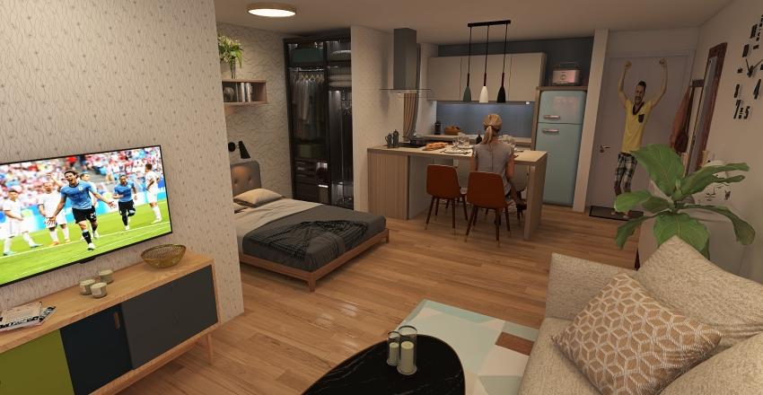 Campinas Studio 3 Interior Design Render