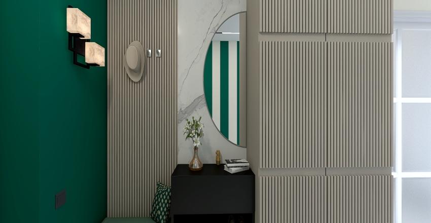 Загородный дом в Подмосковье Interior Design Render