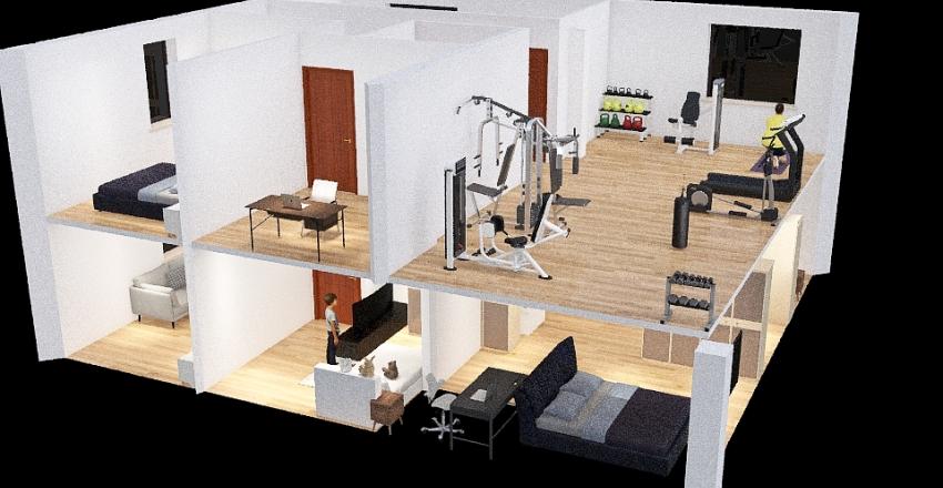 luka šoper Interior Design Render