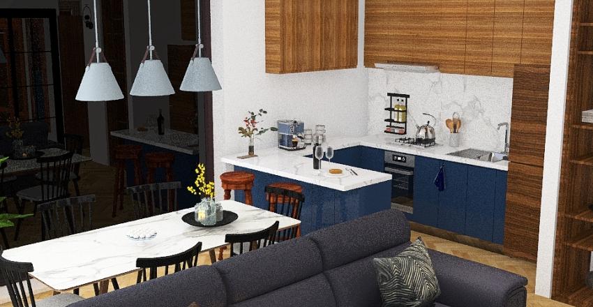 mieszkanie 5 Interior Design Render
