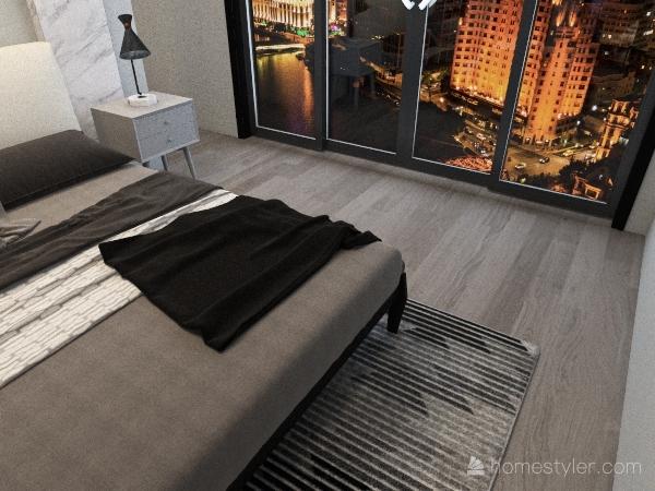 belle chambre moderne(FRENCH) Interior Design Render