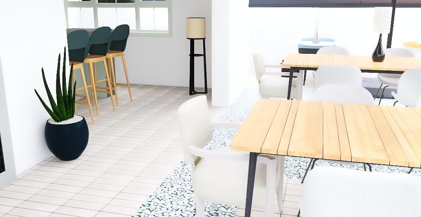 bar al mare Interior Design Render