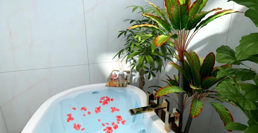 Japanese Home Interior Design Render