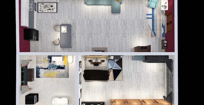 martina Interior Design Render