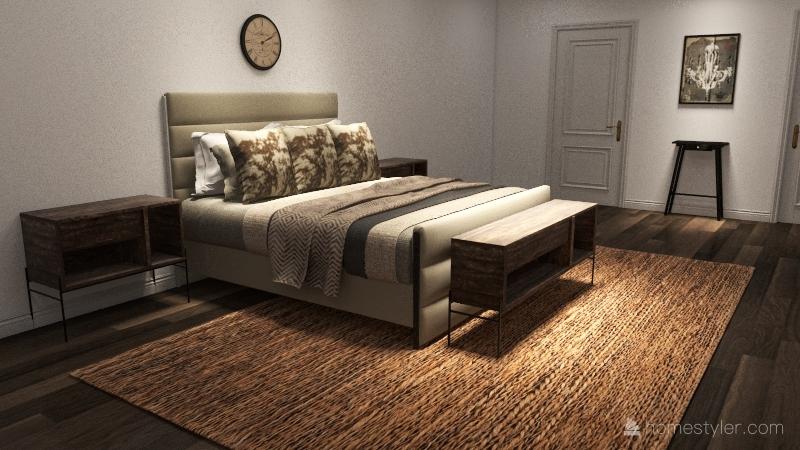 Copy of 1 bedroom unit Interior Design Render