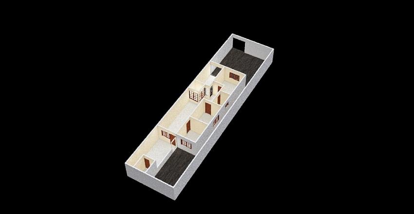 PLANTA 5 (meia garagem) Interior Design Render