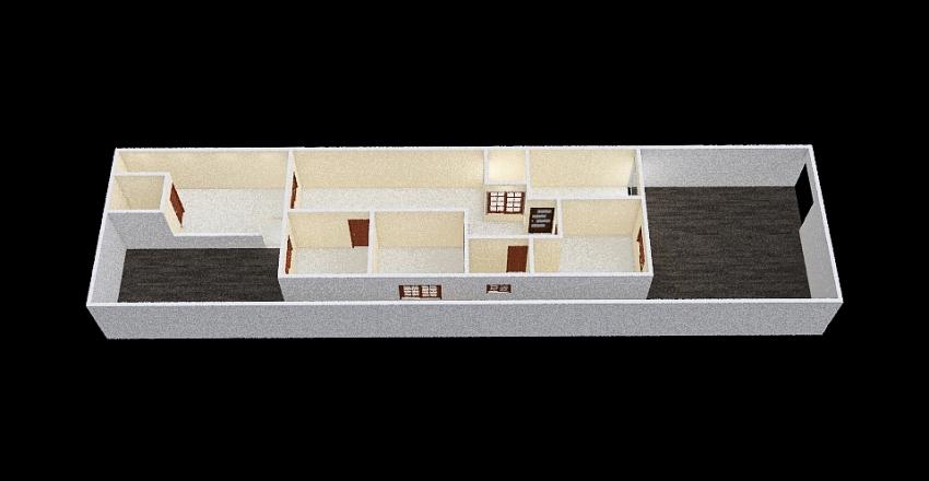 PLANTA 4 (quarto invertido) Interior Design Render