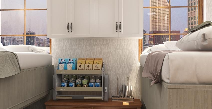🖤 Aesthetic Dorm 🖤  Interior Design Render