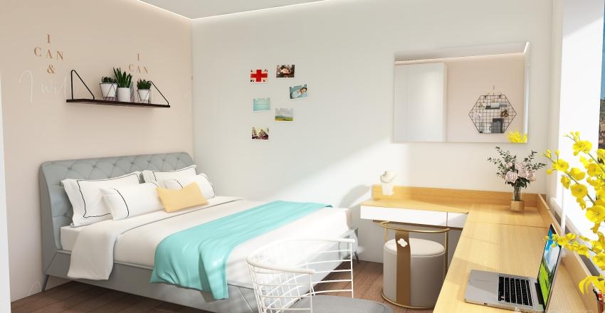 3 floor house Interior Design Render