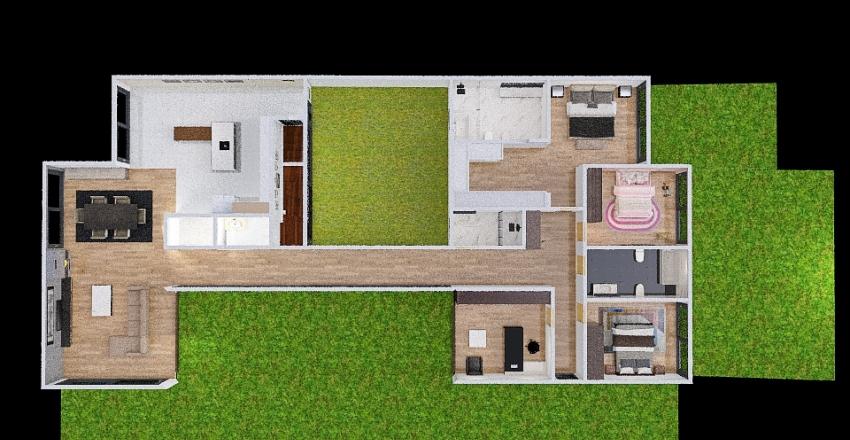 teste_casa Interior Design Render