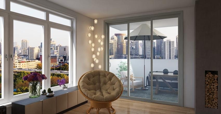 Manhattan appartment Interior Design Render