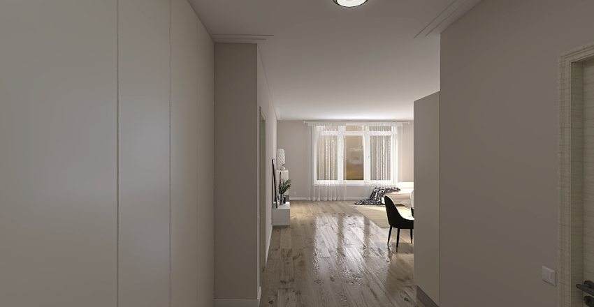 pint flat Interior Design Render